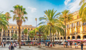 Plaça Reial, Gótico, Barcelona